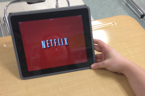 Students get their fix with Netflix