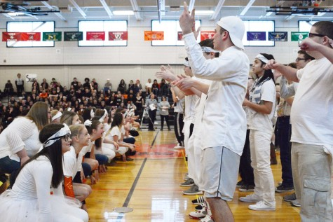 Spirit week brings BHS students to their feet