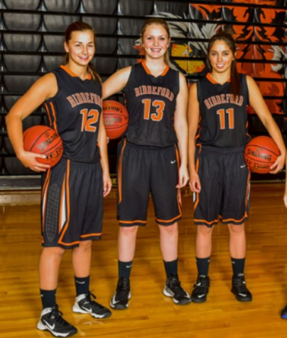 First win for Biddeford girls varsity basketball team