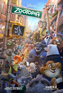 The Movie Buff March: Zootopia