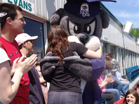 Students surprised with Sea Dogs game as make-up for Special Olympics