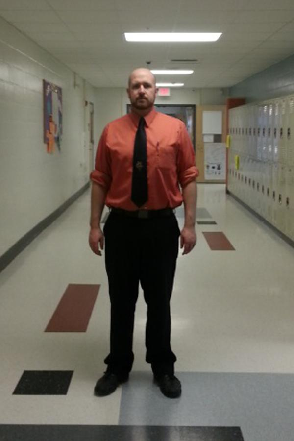He's the hall monitor the hallways deserve