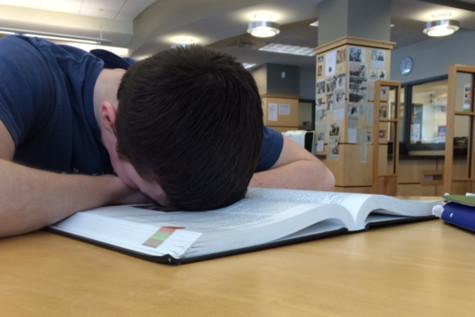 Students trade sleep for school