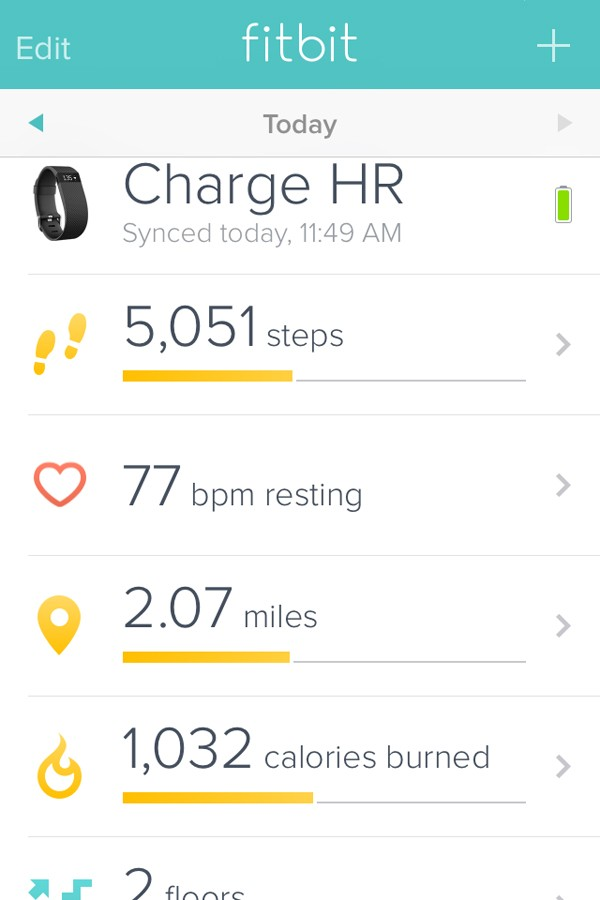 Fitbit Steps into BHS