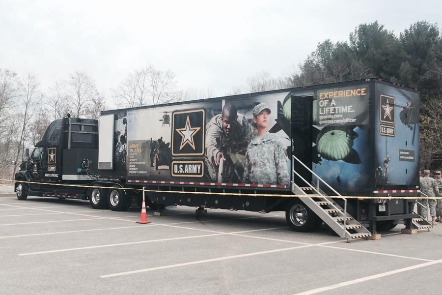 Army brings more than recruitment to BHS