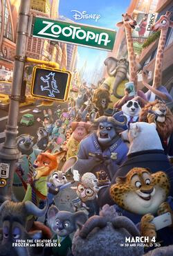 The Movie Buff March: Zootopia