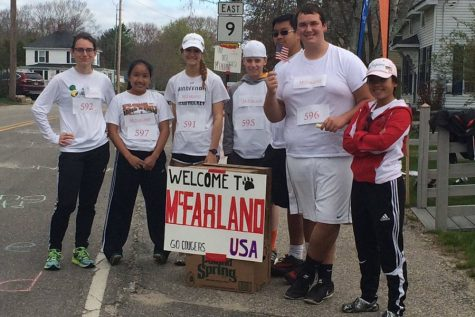 BHS students do their part at the annual Maine Coast Marathon