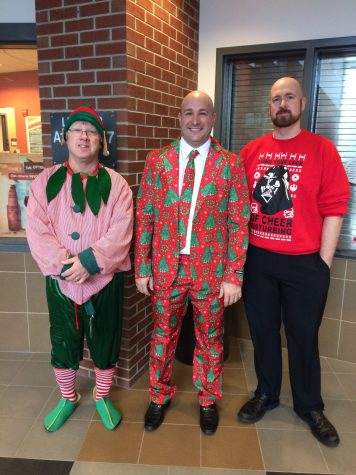 Ugly Sweater Contest brings out BHS's Holiday Spirit