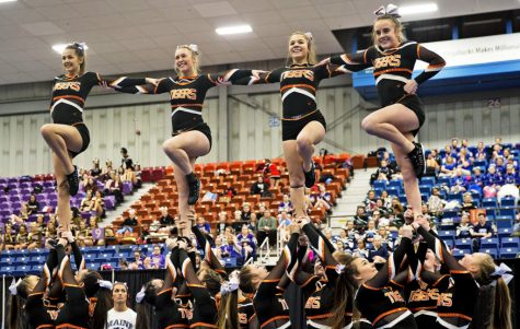 BHS Cheering team brings home the gold