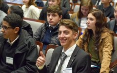 Model UN team holds conference for neighboring schools
