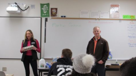 Martin Grohman and Co. Visit B.H.S.
